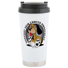 Skin Cancer Dog Travel Mug
