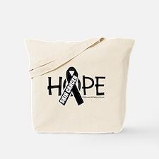 Skin Cancer Hope Tote Bag