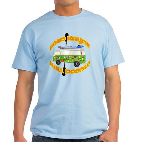 HAVE KAYAK WILL PADDLE Retro Light T-Shirt