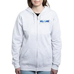 Wipeout Logo Zip Hoodie