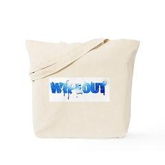 Wipeout Logo Tote Bag