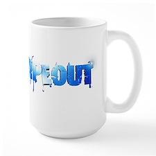 Wipeout Logo Large Mug