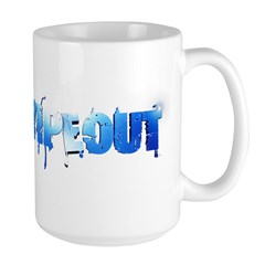 Wipeout Logo Large Mug