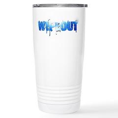 Wipeout Logo Stainless Steel Travel Mug