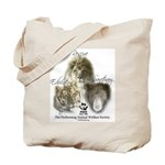 Lions, Tigers & Bears Tote Bag