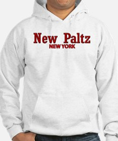 New Paltz Red Title Hoodie