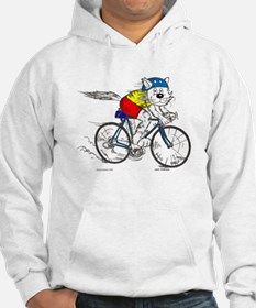 Bicycle Cat Hoodie