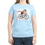 Cats and bicycles Women's Light T-Shirt