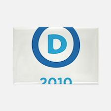 Democrats 2010 Rectangle Magnet