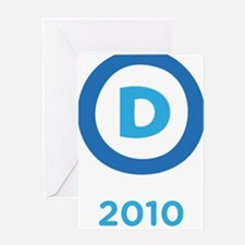 Democrats 2010 Greeting Card