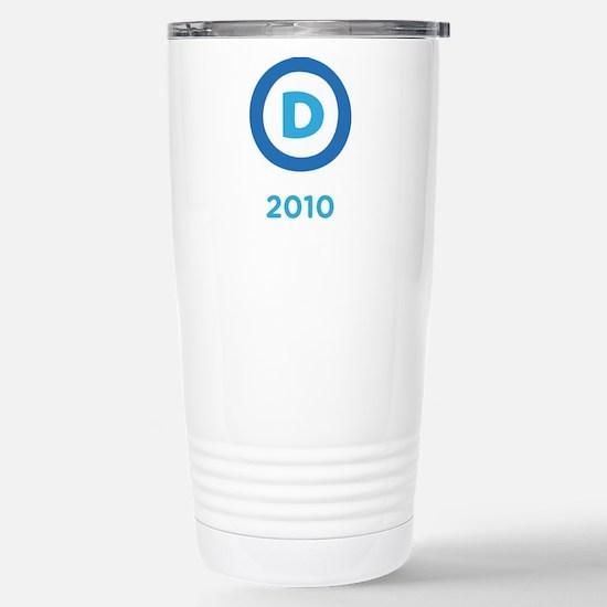 Democrats 2010 Stainless Steel Travel Mug
