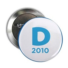 "Democrats 2010 2.25"" Button"
