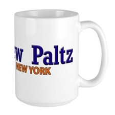 New Paltz Blue & Orange Mug