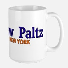 New Paltz Blue & Orange Mug