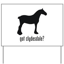 Clydesdale Yard Sign