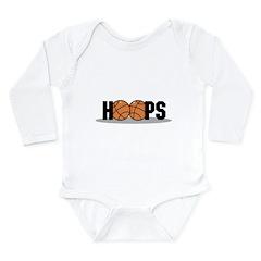HOOPS Long Sleeve Infant Bodysuit