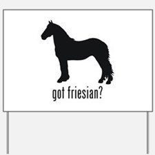 Friesian Yard Sign