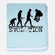 EVOLUTION Skateboarding Infant Blanket