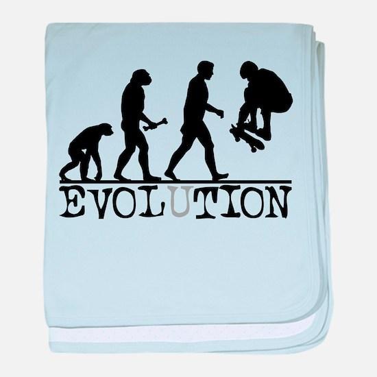 EVOLUTION Skateboarding Infant Blanket