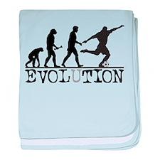 EVOLUTION Soccer Infant Blanket