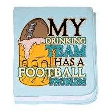 Football Drinking Team Infant Blanket