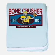 Bone Crusher Football Infant Blanket