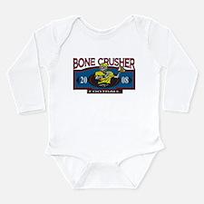 Bone Crusher Football Long Sleeve Infant Bodysuit