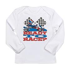 Go Kart Ready to Race Long Sleeve Infant T-Shirt