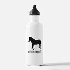 Icelandic Pony Water Bottle