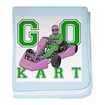 Go Kart Adult Infant Blanket
