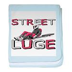 Street Luge Racer Infant Blanket