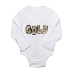 GOLF! Long Sleeve Infant Bodysuit