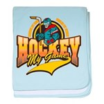 Hockey My Game Infant Blanket