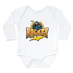 Hockey My Game Long Sleeve Infant Bodysuit