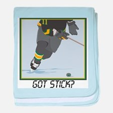 Got Stick?2(Hockey) Infant Blanket