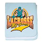 Lacrosse My Game Infant Blanket