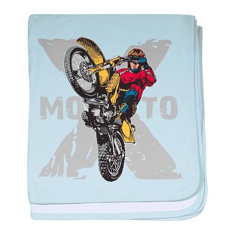Motorcross Stunt Infant Blanket