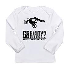 Gravity?-Motocross Long Sleeve Infant T-Shirt