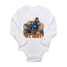 Got Dirt ATV Long Sleeve Infant Bodysuit