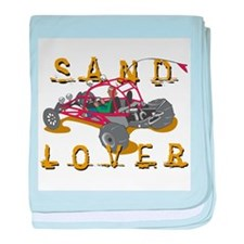 Sand Lover Dune Buggy baby blanket