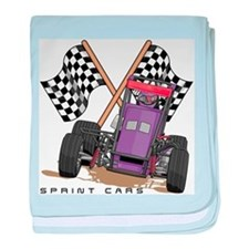 Sprint Cars Infant Blanket