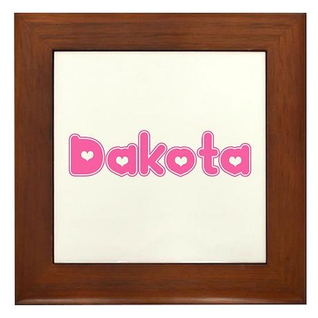 """""""Dakota"""" Framed Tile"""