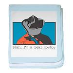 Real Cowboy Infant Blanket
