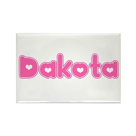 """""""Dakota"""" Rectangle Magnet"""
