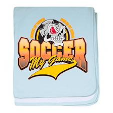 Soccer My Game Infant Blanket