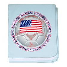 United States Soccer Infant Blanket