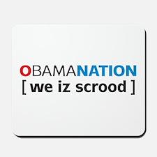 Obamanation Mousepad