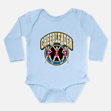Cheerleader Logo Long Sleeve Infant Bodysuit