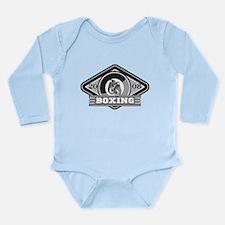 2008 Boxing Logo Long Sleeve Infant Bodysuit