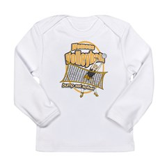 Volleyball Spike Long Sleeve Infant T-Shirt